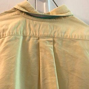 Ralph Lauren Tops - Ralph Lauren Classic Fit yellow button down